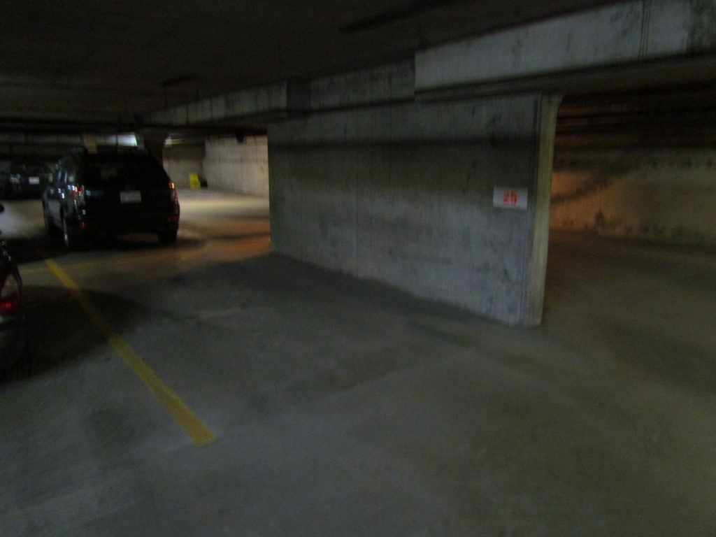 Underground Heated Parking